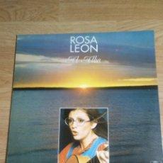 Discos de vinilo: ROSA LEON - AL ALBA / LP ARIOLA 1975 SPAIN CON ENCANTE. Lote 100333891