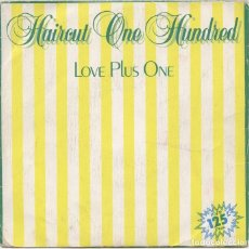 Discos de vinilo: HAIRCUT ONE HUNDRED_LOVE PLUS ONE/FANTASTIC DAY_7'' SPAIN SINGLE_1982. Lote 100357719