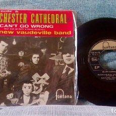 Discos de vinilo: THE NEW VAUDEVILLE BAND ?– WINCHESTER CATHEDRAL - ED. ESPAÑOLA DE 1966 - EX. Lote 100364599