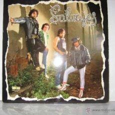 Discos de vinilo: LOS SALVAJES LP 33 SALVAJES BELTER AÑO 1981 SUS MEJORES CANCIONES. Lote 100365751
