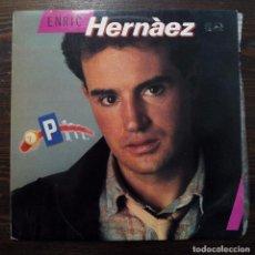 Discos de vinilo: LP ENRIC HERNÀEZ - FONOMUSIC 1986.. Lote 100366411