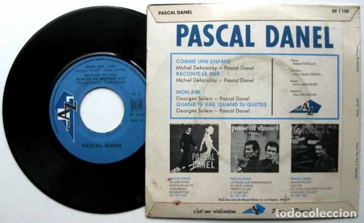 Discos de vinilo: Pascal Danel - Comme Une Enfant +3 - EP DiscAz 1967 Francia BPY - Foto 2 - 100369907