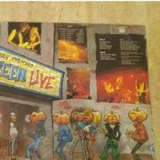 Discos de vinilo: HELLOWEEN -LIVE IN THE UK -EDICION ESPAÑOLA 1989.. Lote 151966356