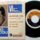 Discos de vinilo: EMILIO PERICOLI - VI FESTIVAL CANCIÓN MEDITERRÁNEA - HO CAPITO CHE TI AMO +3 - EP RICORDI 1964 BPY. Lote 100371059
