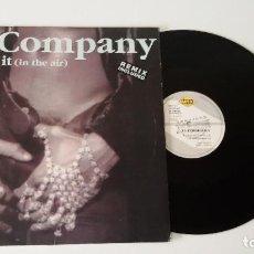 Discos de vinilo: JT COMPANY - FEEL IT (IN THE AIR). Lote 100372867