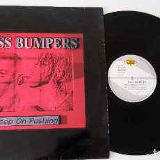 Discos de vinilo: BASS BUMPERS - KEEP ON PUSHING (5 REMIXES). Lote 100373323