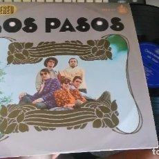Discos de vinilo: LOS PASOS LP 1967.ESCUCHADO. Lote 101292364