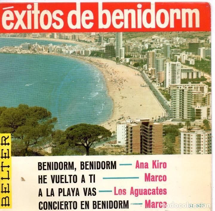 EXITOS DE BENIDORM - ANA KIRO, EP, BENIDORM, BENIDORM + 3, AÑO 1967 (Música - Discos de Vinilo - EPs - Otros Festivales de la Canción)