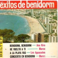 Discos de vinilo: EXITOS DE BENIDORM - ANA KIRO, EP, BENIDORM, BENIDORM + 3, AÑO 1967. Lote 100377151