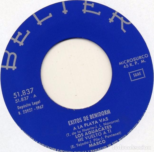 Discos de vinilo: EXITOS DE BENIDORM - ANA KIRO, EP, BENIDORM, BENIDORM + 3, AÑO 1967 - Foto 3 - 100377151