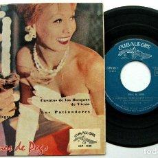 Discos de vinilo: ORQUESTA VIOLINES DE PEGO - DINING IN VIENNA - ROSAS DEL SUR +3 - EP CUBALEGRE 1963 BPY. Lote 100387247
