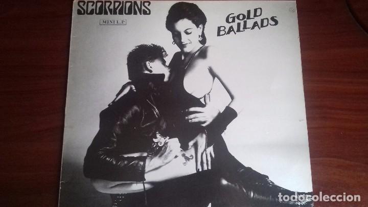 SCORPIONS - GOLD BALLADS - MINI LP DE 1984. EDICIÓN ESPAÑOLA (Música - Discos - Singles Vinilo - Heavy - Metal)