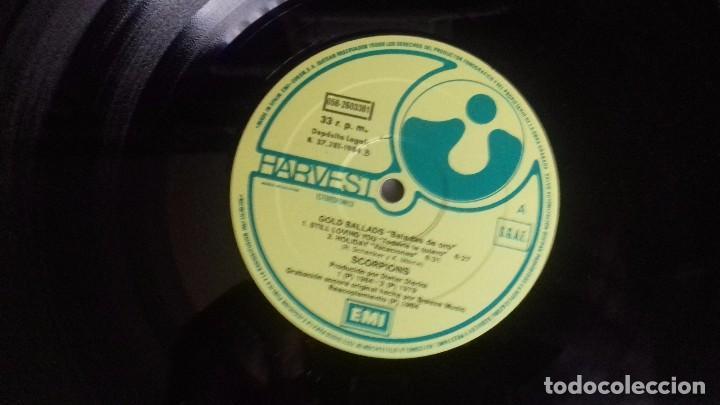 Discos de vinilo: Scorpions - Gold Ballads - Mini LP de 1984. Edición española - Foto 2 - 100392035