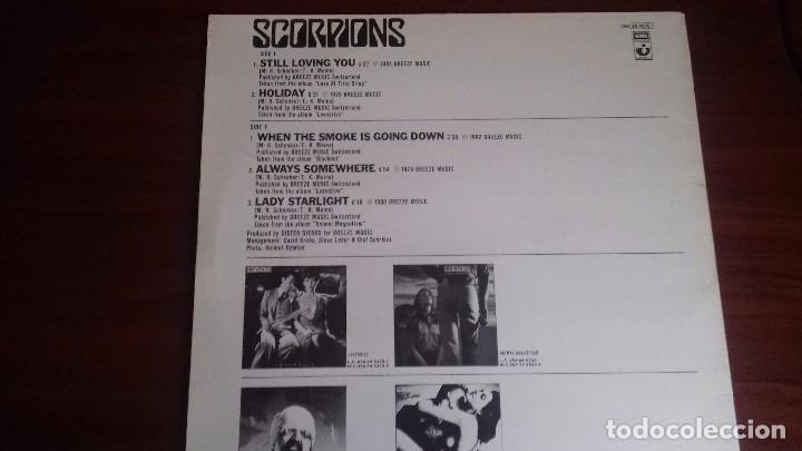 Discos de vinilo: Scorpions - Gold Ballads - Mini LP de 1984. Edición española - Foto 5 - 100392035