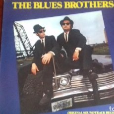 Discos de vinilo: THE BLUES BROTHERS BSO LP 1980. Lote 100392247