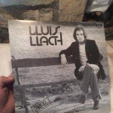 Discos de vinilo: ANTIGUO DISCO DE VINILO LLUIS LLACH POR EL AUTOR LLUIS LLACH EN CATALAN, AÑO 1976. Lote 100398155