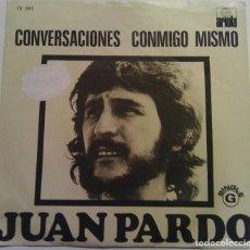 Disques de vinyle: JUAN PARDO - COVERSACIONES CONMIGO MISMO - 1974 ARIOLA. Lote 100400575