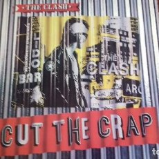 Discos de vinilo: THE CLASH CUT THE CRAP LP SPAIN 1985 PDELUXE. Lote 100404627
