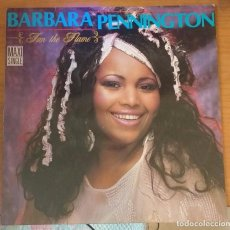 Discos de vinilo: BARBARA PENNINGTON / FAN THE FLAME. Lote 100404963