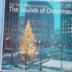 Discos de vinil: THE THREE SUNS WITH ORCHESTRA,THE SOUNDS OF CHRISTMAS EDICION USA. Lote 199342966