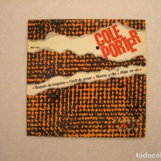 Discos de vinilo: COLE PORTER – BEGIN DE BEGUINE - VERGARA 1965 - SINGLE - P. Lote 100416863