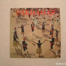Discos de vinilo: SARDANAS COBLA AMOGA - VERGARA - SINGLE - P. Lote 100418399