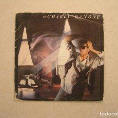 Discos de vinilo: CHARLY DANONE – ...ED IO TI TROVERO - INDALO MUSIC 1986 - SINGLE - P. Lote 100419139