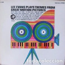 Discos de vinilo: LEE EVANS PLAYS THEMES FROM GREAT MOTION PICTURES. LP. MGM RDS, USA, SIN FECHA (1967). Lote 100427923