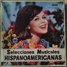 Discos de vinilo: ESTUCHE 12 DISCOS LP: SELECCIONES MUSICALES HISPANOAMERICANAS (1966) . Lote 100439415