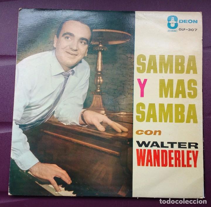 WALTER WANDERLEY - SAMBA Y MAS SAMBA. ODEON. EDICIÓN VENEZOLANA. (Música - Discos - LP Vinilo - Jazz, Jazz-Rock, Blues y R&B)