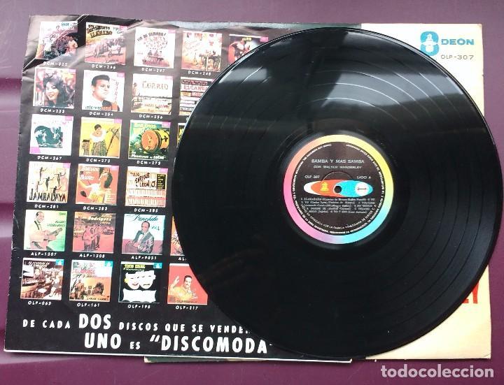 Discos de vinilo: Walter Wanderley - Samba y mas Samba. Odeon. Edición Venezolana. - Foto 3 - 100442103