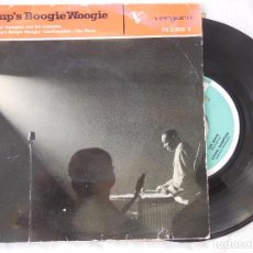 Discos de vinilo: LIONEL HAMPTON AND HIS ORCHESTRA : HAMP'S BOOGIE WOOGIE; CONFIRMATION; THE MOVE. 1962.. Lote 100446979