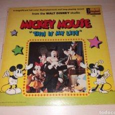 Discos de vinilo: LP MICKEY MOUSE - DISNEYLAND RECORD. Lote 100470551