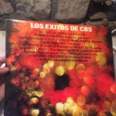 Discos de vinilo: ANTIGUO DISCO VINILO LOS ÉXITOS DE CBS - RAFFAELLA CARRÀ / GEORGIE DANN / ROBERTO CARLOS ETC AÑO1977. Lote 100473039