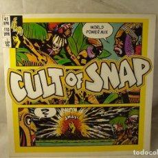 Discos de vinilo: CULT OF SNAP.MAXI 1990.. Lote 100507507