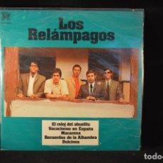 Discos de vinilo: LOS RELAMPAGOS - LOS RELAMPAGOS - LP. Lote 100508963