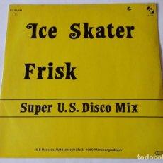 Discos de vinilo: FRISK - ICE SKATER. Lote 61088123