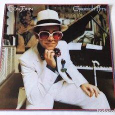 Discos de vinilo: ELTON JOHN - GREATEST HITS - LP - 1979. Lote 66436494