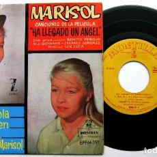 Discos de vinilo: MARISOL - CANCIONES DE LA PELÍCULA HA LLEGADO UN ANGEL - OLA, OLA, OLA +3 - EP ZAFIRO 1961 BPY. Lote 100517651