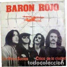 Discos de vinilo: BARÓN ROJO – CON BOTAS SUCIAS . Lote 100520071