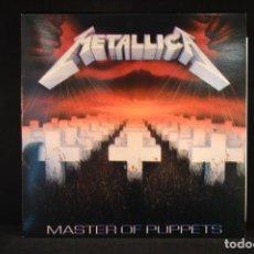 Discos de vinilo: METALLICA - MASTER OF PUPPETS - LP REEDICION. Lote 100526267