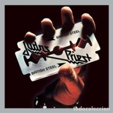 Discos de vinilo: JUDAS PRIEST BRITISH STEEL . Lote 100535719