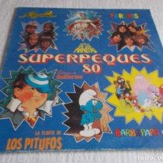 Discos de vinilo: SUPERPEQUES 80. Lote 100535779