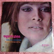 Discos de vinilo: MARISOL AQUEL VERANO - MAMI PANCHITA - LP DE U.S.A . DISCOGRAFICA PARNASO INTERNACIONAL. Lote 100539267