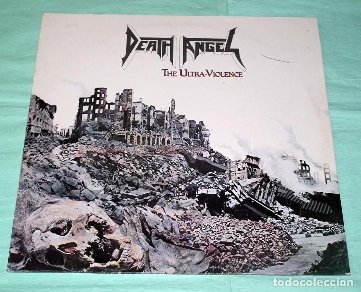 LP DEATH ANGEL - THE ULTRAVIOLENCE (Música - Discos - LP Vinilo - Heavy - Metal)