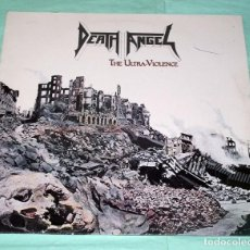 Discos de vinilo: LP DEATH ANGEL - THE ULTRAVIOLENCE. Lote 100541167