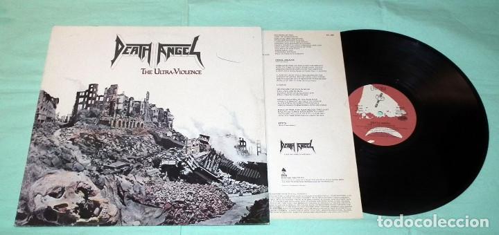 Discos de vinilo: LP DEATH ANGEL - THE ULTRAVIOLENCE - Foto 3 - 100541167