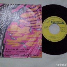 Discos de vinilo: MUSICA SINGLE: STARLUX - 4 ÉXITOS DE ESTE AÑO (ABLN). Lote 100542187
