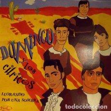 Discos de vinilo: LLORANDO POR UNA SOMBRA. (MINI-LP 33 RPM. TOC TOC RDS, 1988). Lote 100542283