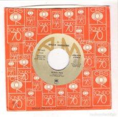 Discos de vinilo: CHUCK MAGIONE - SIENTA BIEN + MAUI-WAUI (SINGLE 7'' 1978, A&M AMS-5637). Lote 100543523
